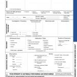 Emergency Obs Ward Admission Sheet (7/2016)